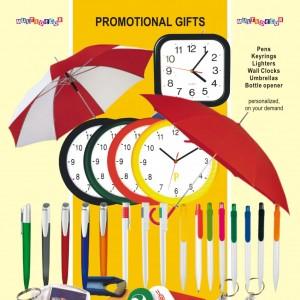 en materiale promotionale