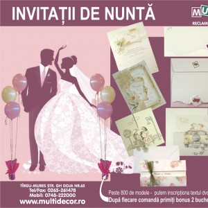 Oferta invitatii nunta ro