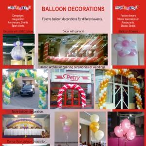 en decor baloane